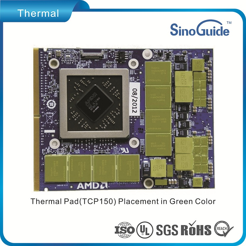 sinoguide Made Thermal PAD For Your Laptop's Gpu