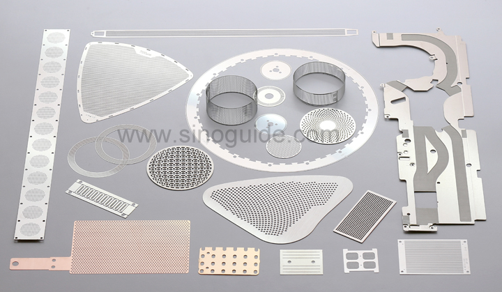 Photo Etching thin metal parts and components
