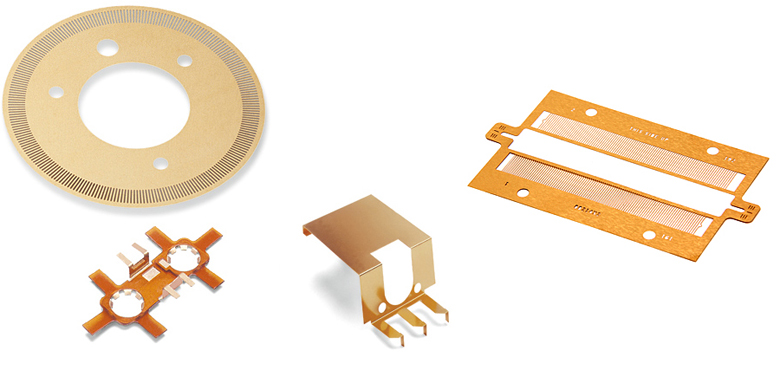 Thin Metal Etched Parts and Components Application